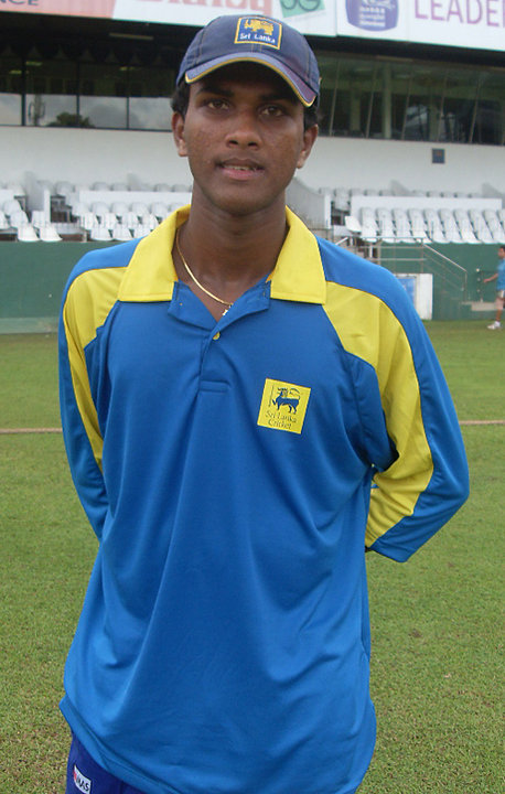 Dinesh Chandimal in his early days