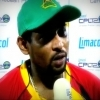 CPL 1st semi final: T.M.Dilshan during an interview