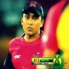 CPL 1st semi final: Mahela watching Dilshan batting