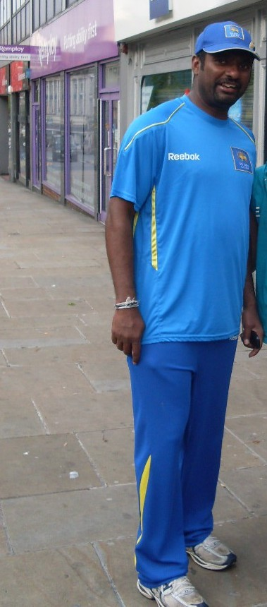 Murali in a hurry for a curry
