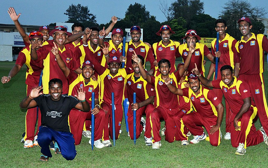 Victorious NCC team