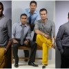 Sangakkara and Mahela at a photoshoot