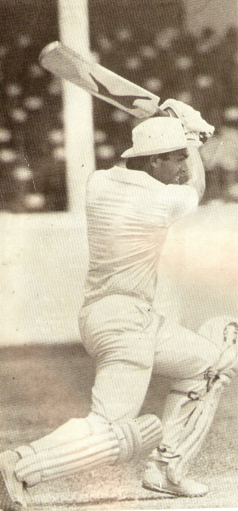 Ranjan on his way to his first hundred, 1985