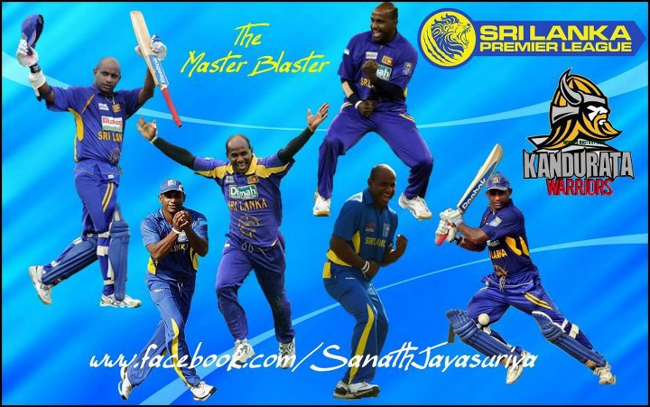 Sanath Jayasuriya - Kandurata Warriors SLPL Wallpaper