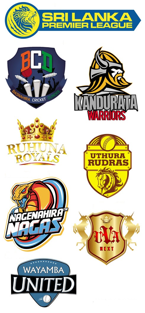 New team names and logos for SLPL