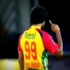 CPL 1st semi final: Lasith Malinga celebrating a wicket
