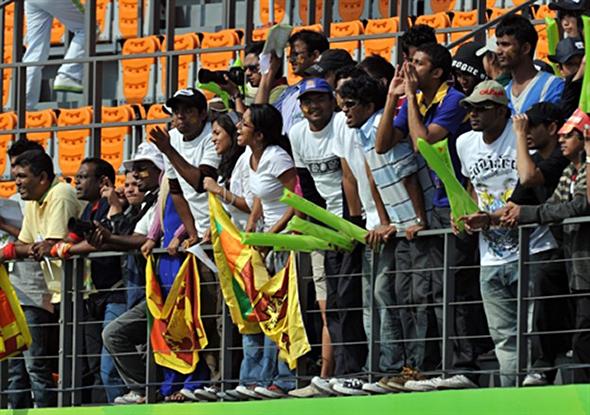 Sri Lanka cricket fans at Asian Games 2010