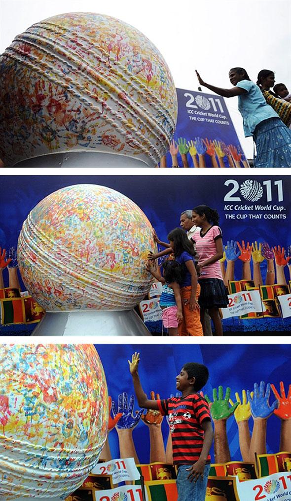 2011 Cricket World Cup fever gathers momentum in Sri Lanka