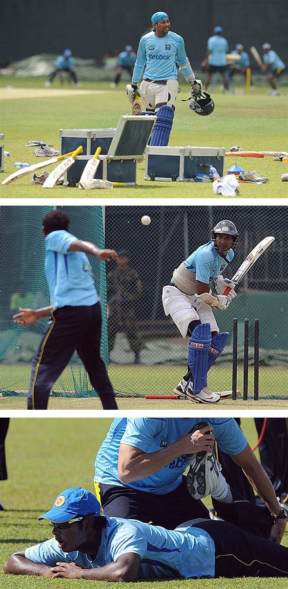 Sri Lanka prepare for West Indies ODI series