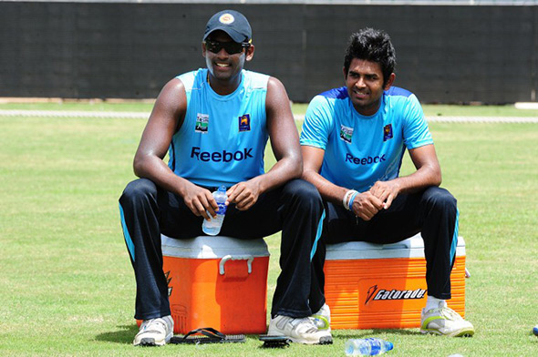 Lahiru Thirimanne and Thisara Perera