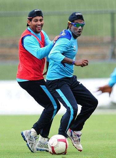 Tillakaratne Dilshan and Angelo Mathews