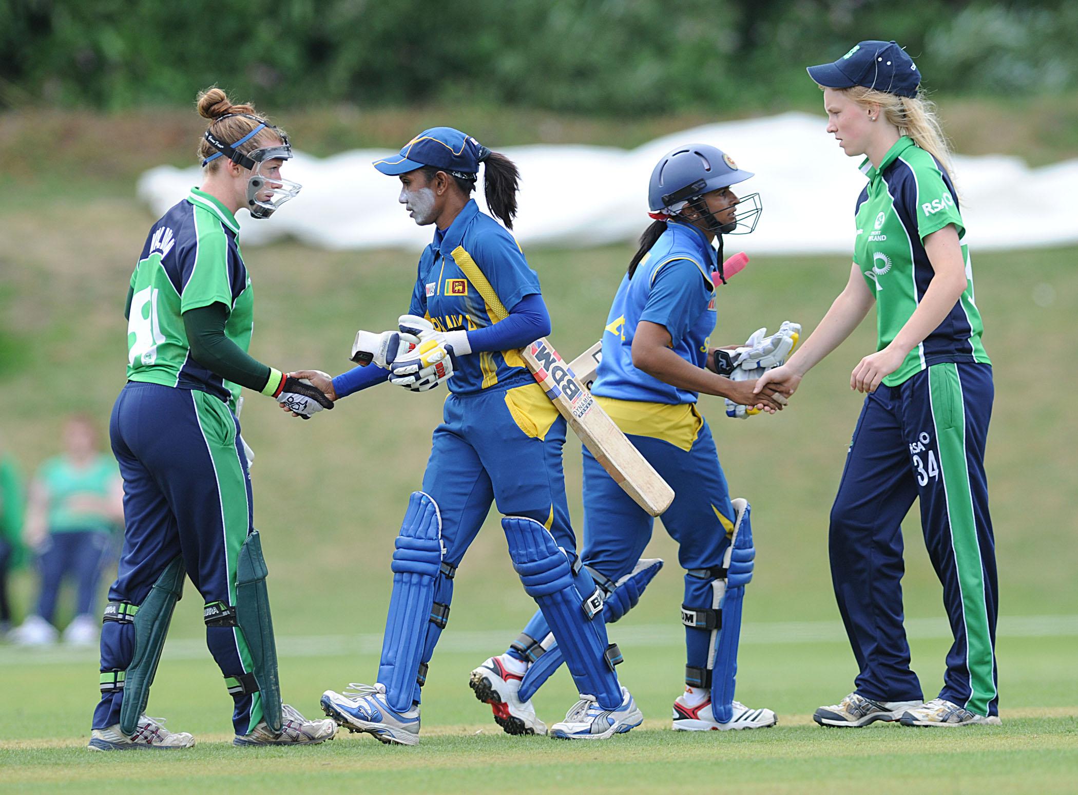 Sri Lanka vs Ireland, Women's WT20 Qualifier, Dublin, 2013