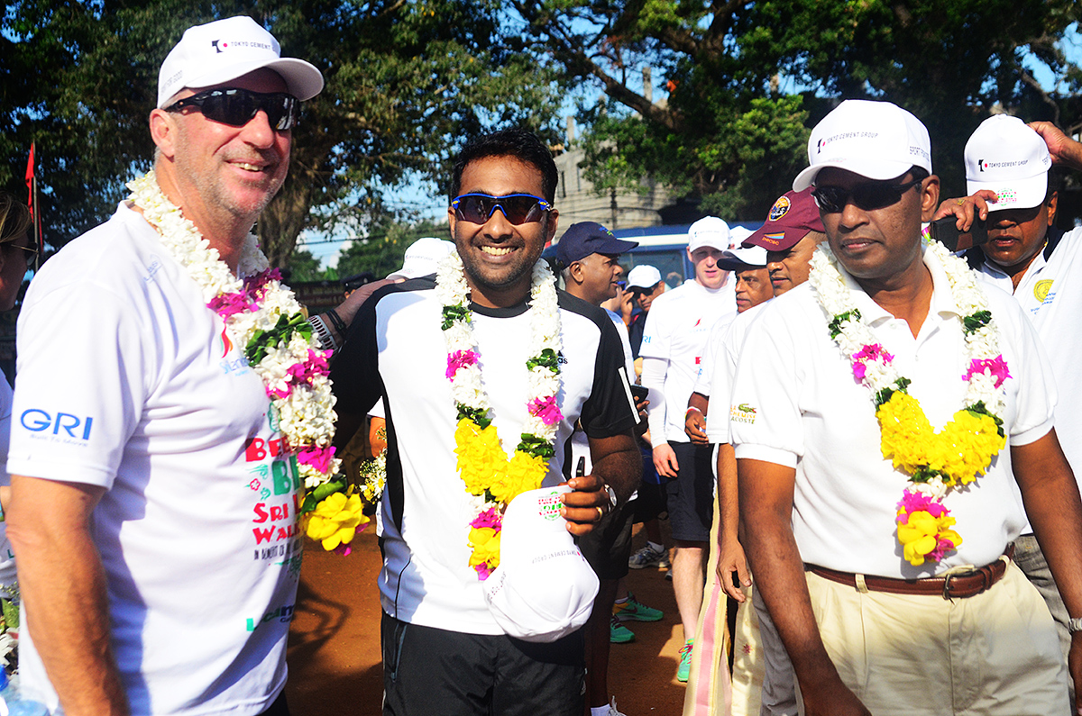 Mahela Jayawardene and Sir Ian Botham