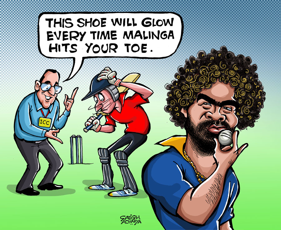 Lasith Malinga The Zinger Island Cricket