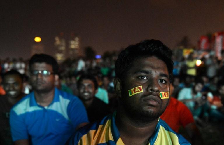 Sri Lankan cricket fans