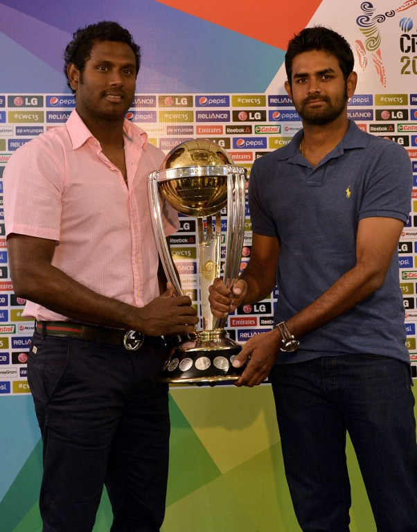 Angelo Mathews and Lahiru Thirimanne