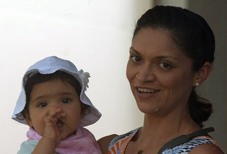 Mahela Jayawardene's daughter
