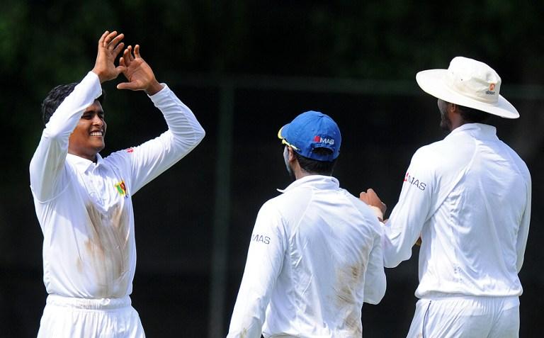Day 1, Sri Lanka BP XI vs Pakistan, Warm-up Match, 2015