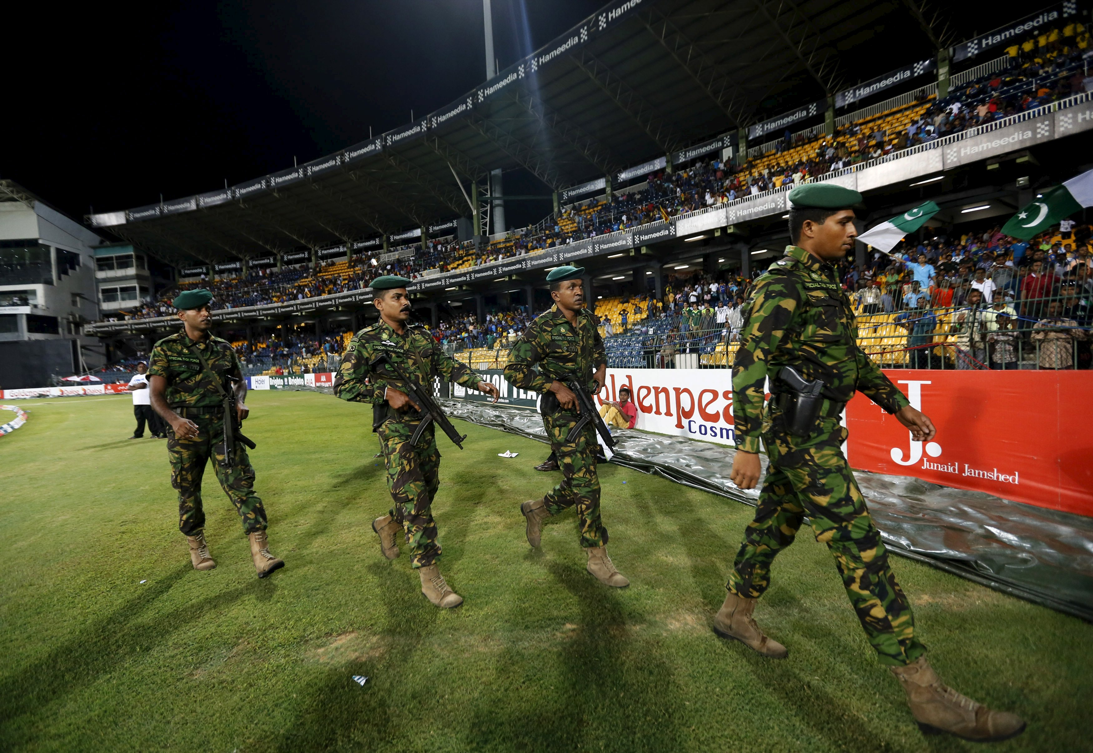 Sri Lanka's Special Task Force soldiers