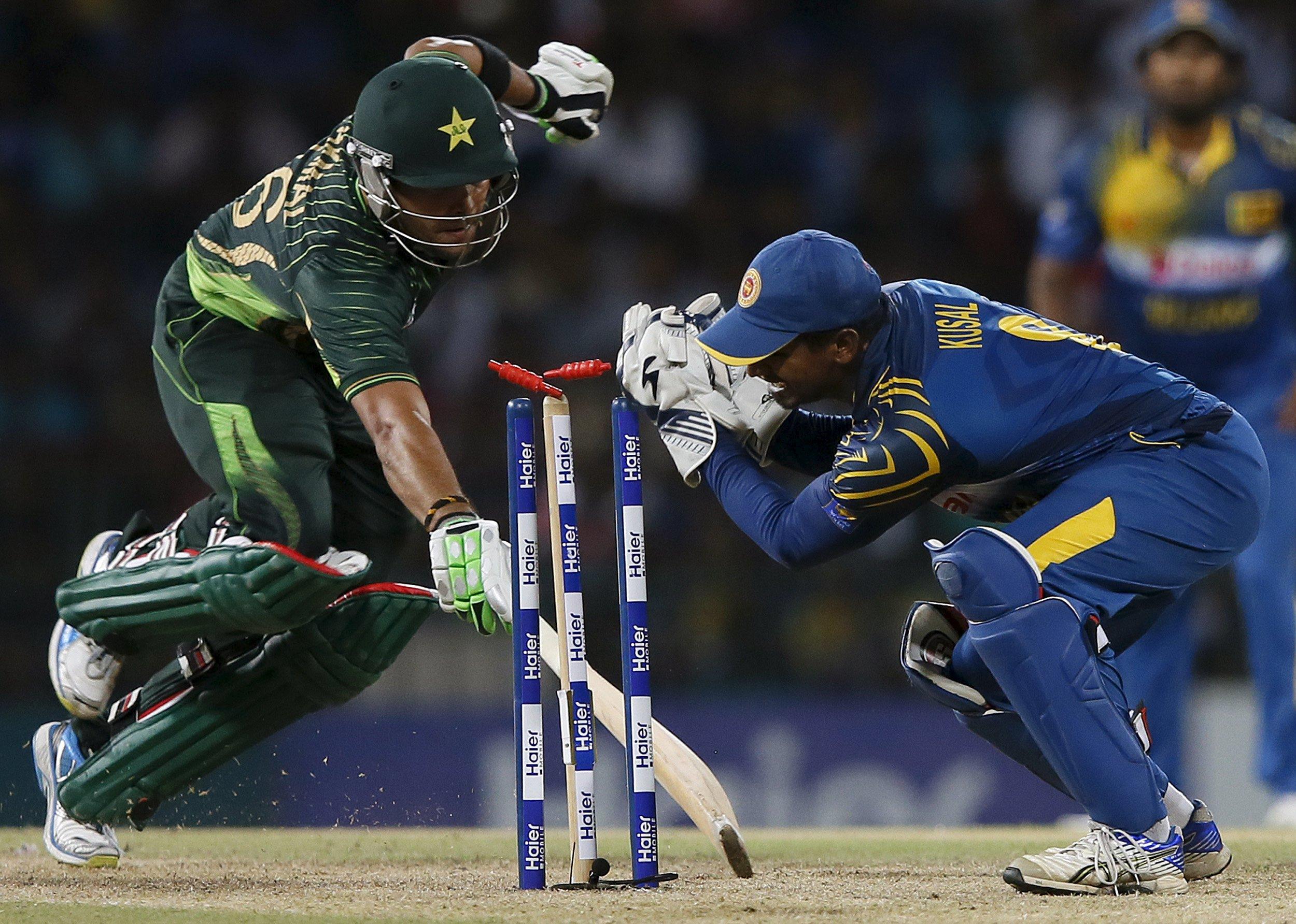 Sri Lanka's wicketkeeper Kusal Perera