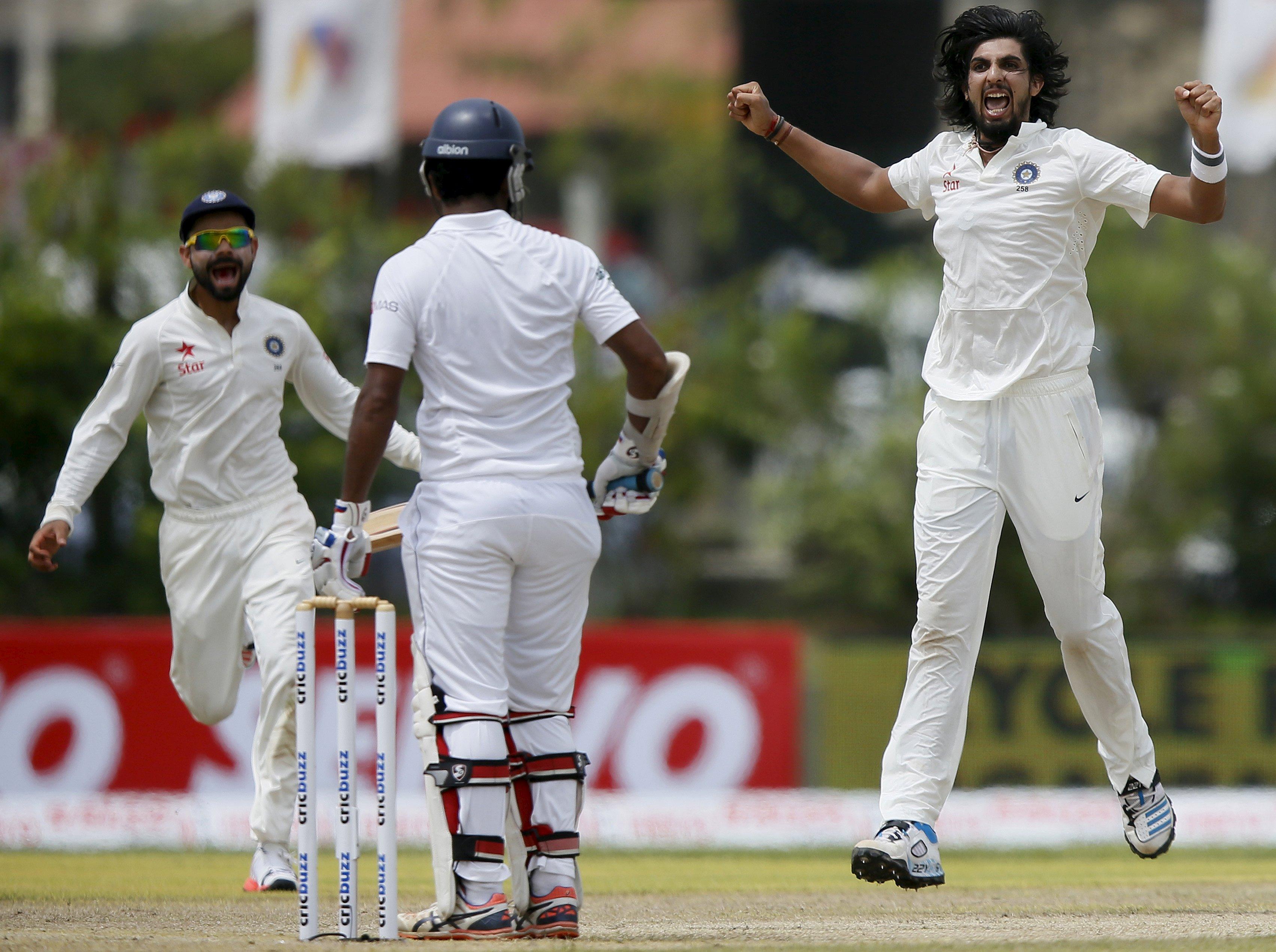 India's Ishant Sharma