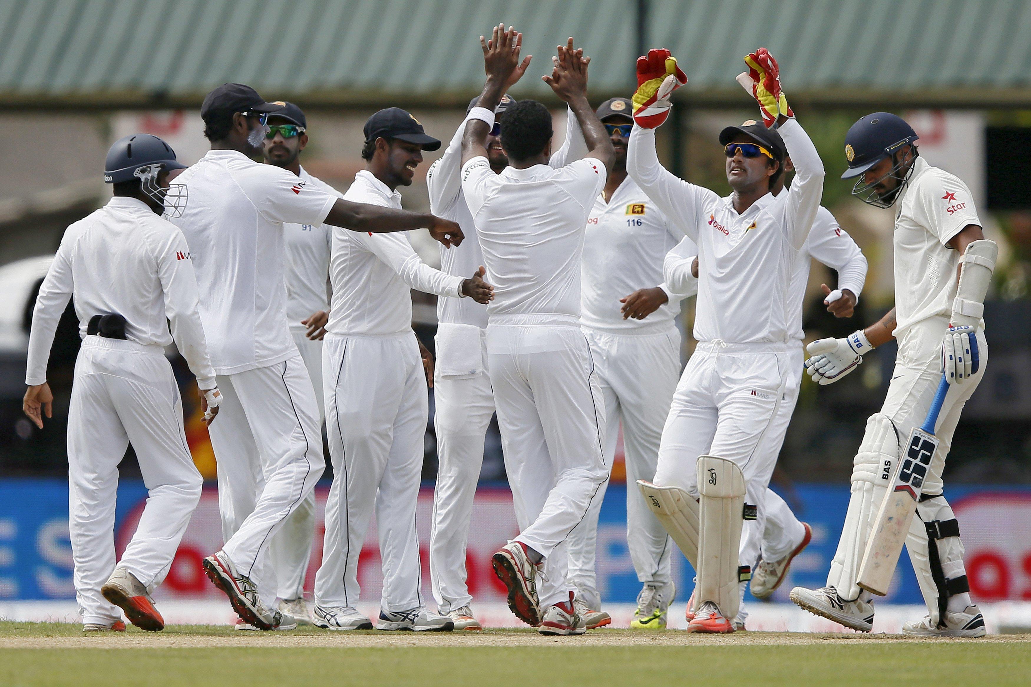 Sri Lanka's captain Angelo Mathews