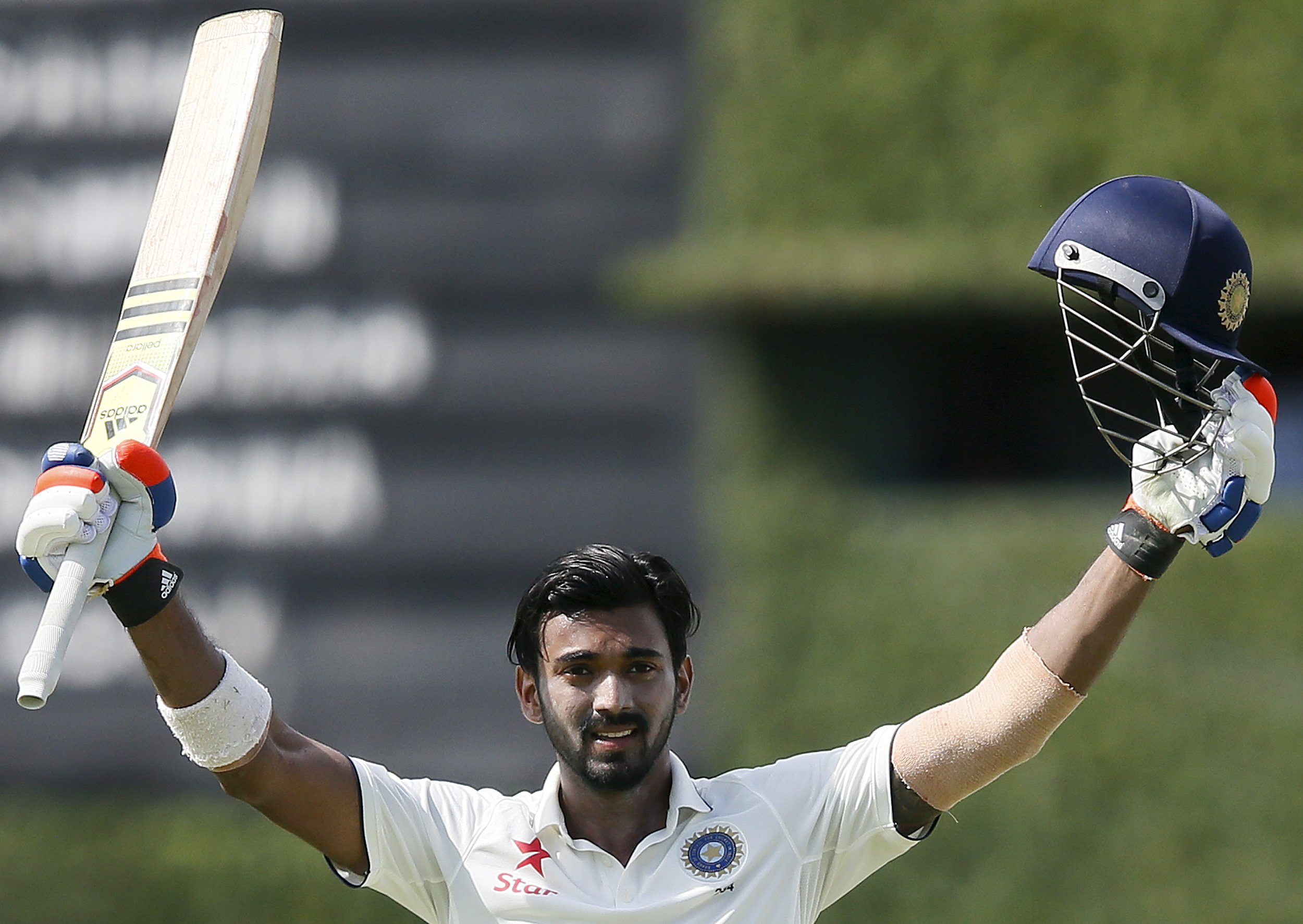 India's Lokesh Rahul
