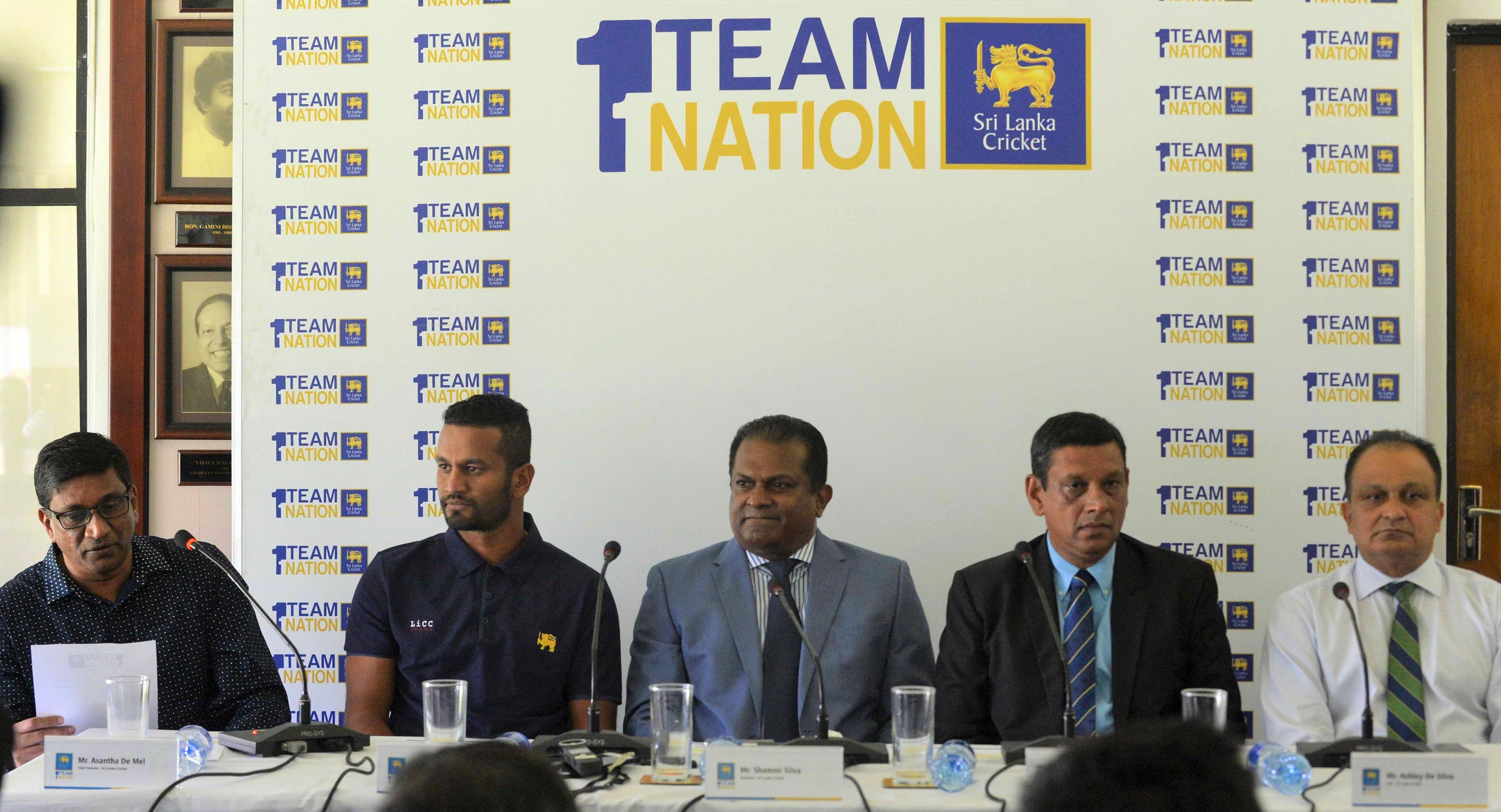 Sri Lanka Cricket officials